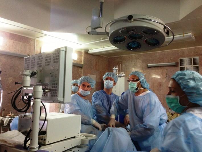 Лапароскопію та ретроперитонеоскопію опановують урологи України