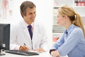 Консультация врача по поводу поликистоза