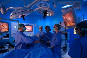 Лапароскопическая операция по удалению кисты почки