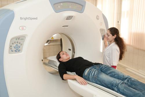 Діагностика кісти печінки за допомогою комп'ютерної томограми