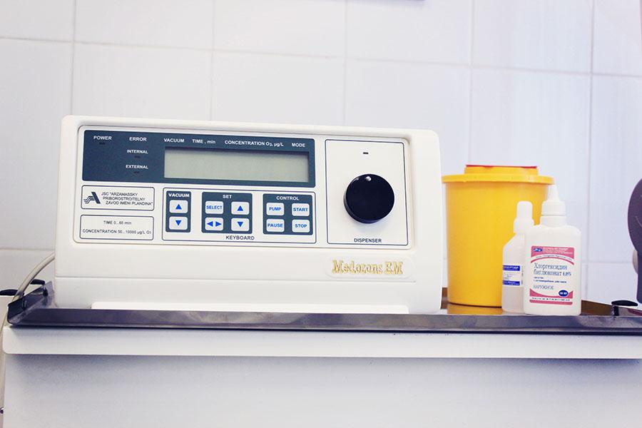 Висока ефективність озонотерапії в лікуванні дерматологічних захворювань